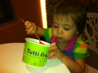 We love fro-yo!